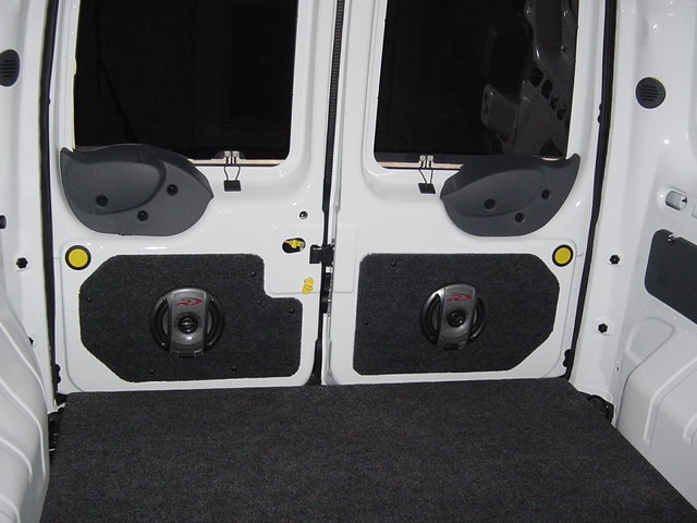 Back Doors With Speakers In Them Ford Transit Forum