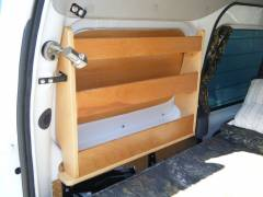 Catch all storage on the rear drivers side