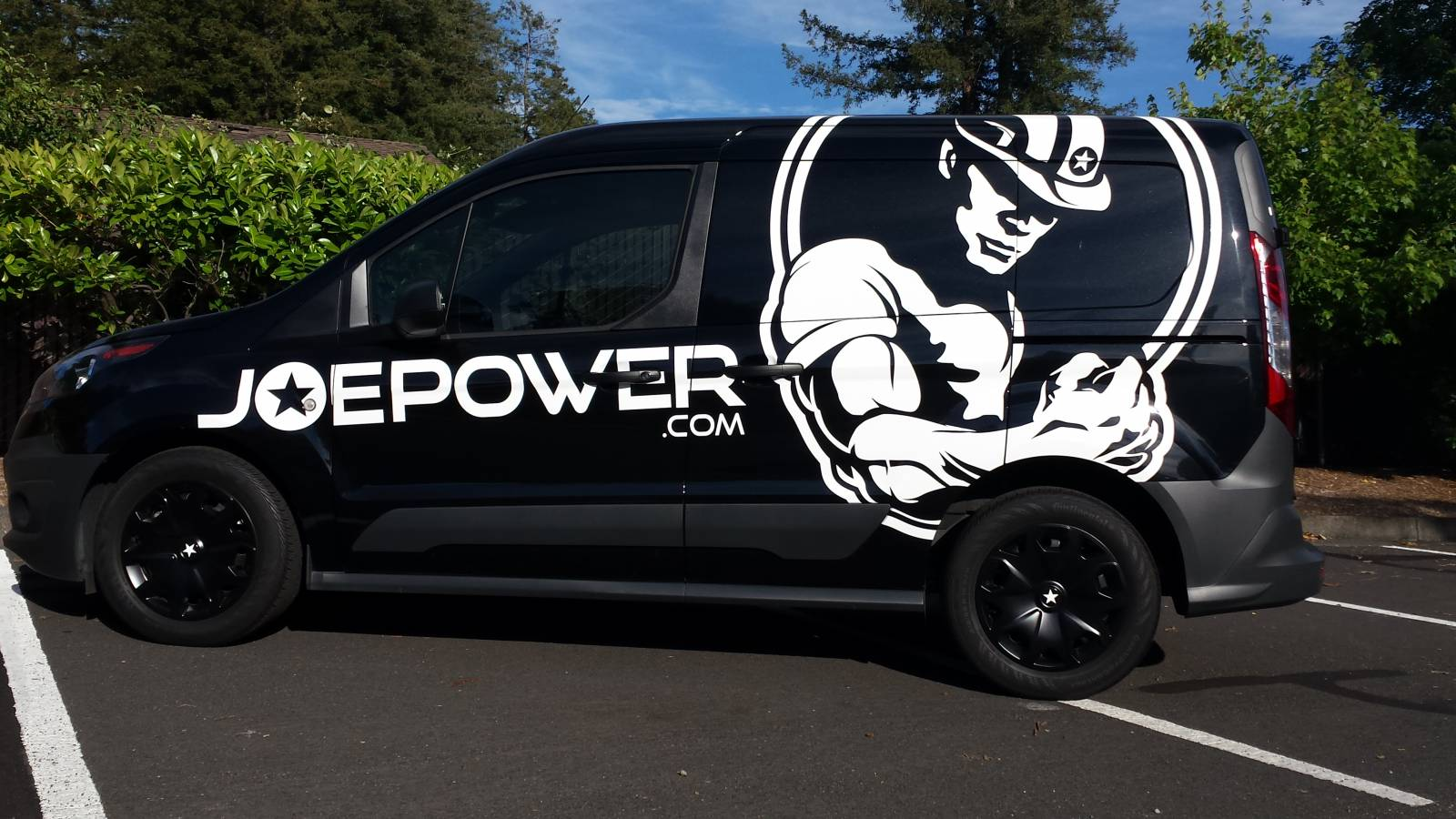 Joe Power Power Wagon