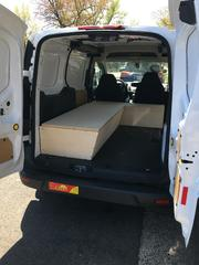 Both boxes built and in the van