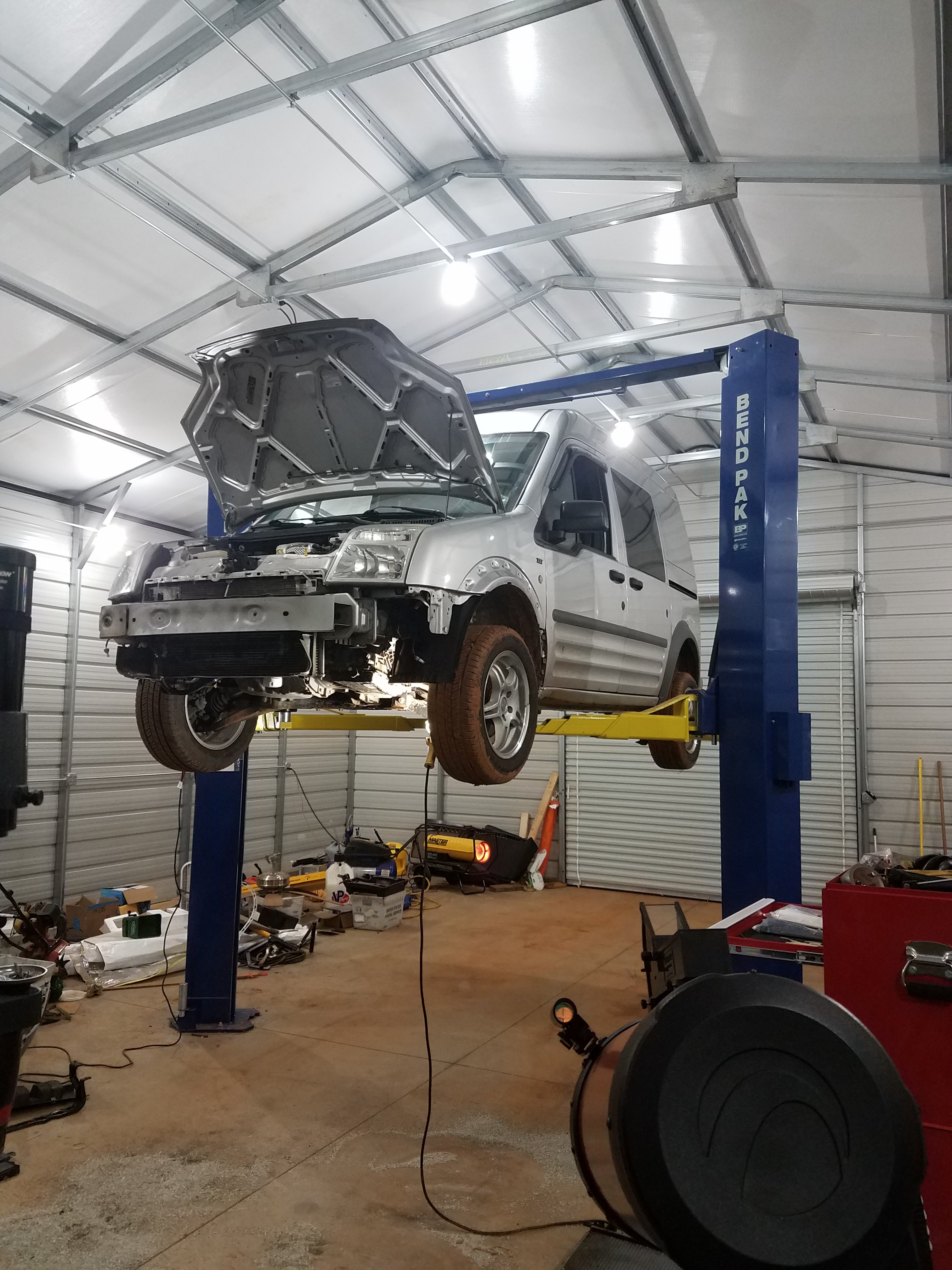 How The Heck Do You Jack One Of These Things Up Brakes Chassis Suspension Ford Transit Connect Forum