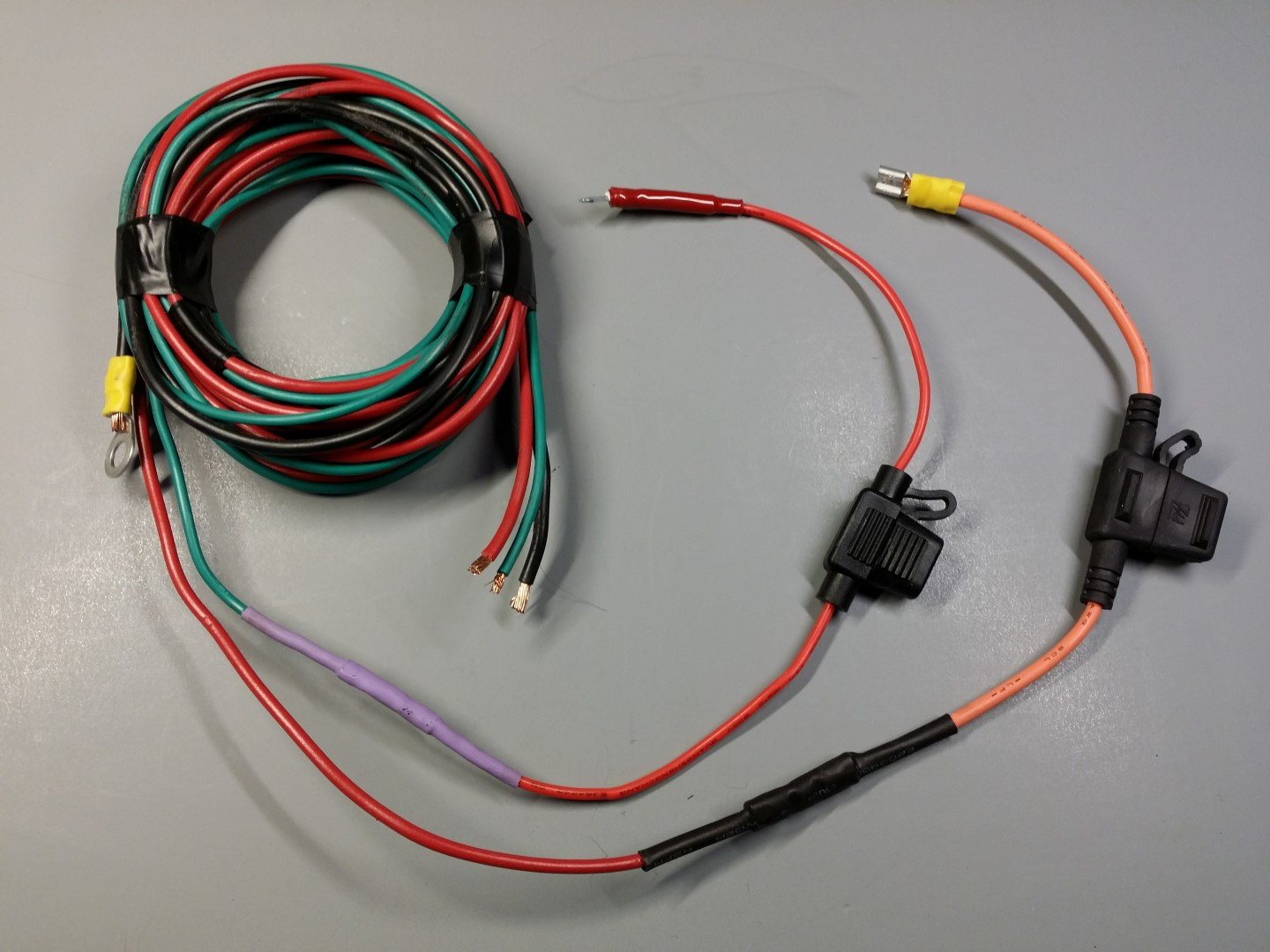 Original add-on fuse wiring (removed)