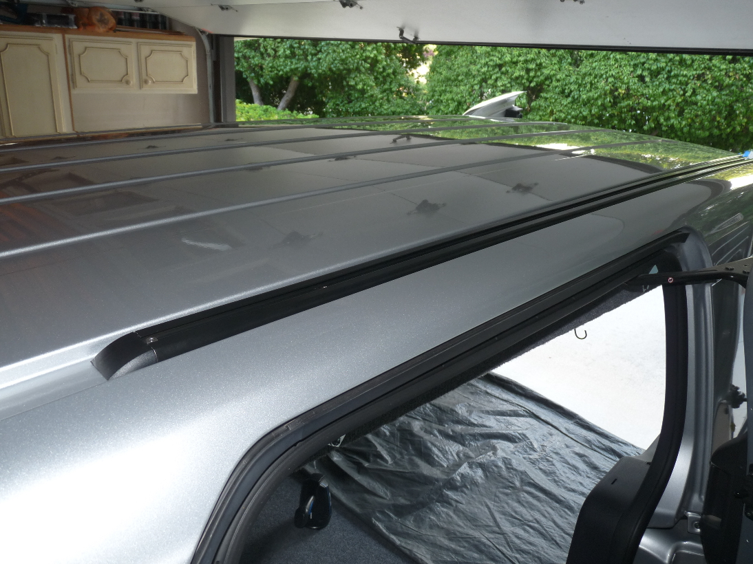 Ford Transit Roof Rack >> GEN 2 ROOF RACKS & TRACKS INSTALL - Cargo, Hauling, Towing & Upfit Packages - Ford Transit ...