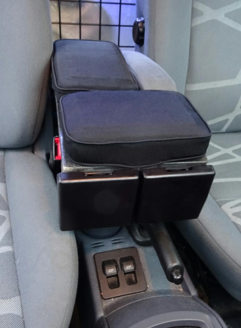 Passenger seat armrest - Interior - Ford Transit Connect Forum