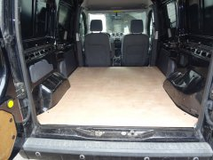 "Anyone else have a ""Mahogany"" Floor in their work van?"