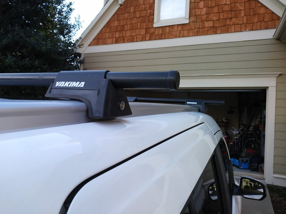 Cross Bar Roof Rack System With Factory Rails Cargo
