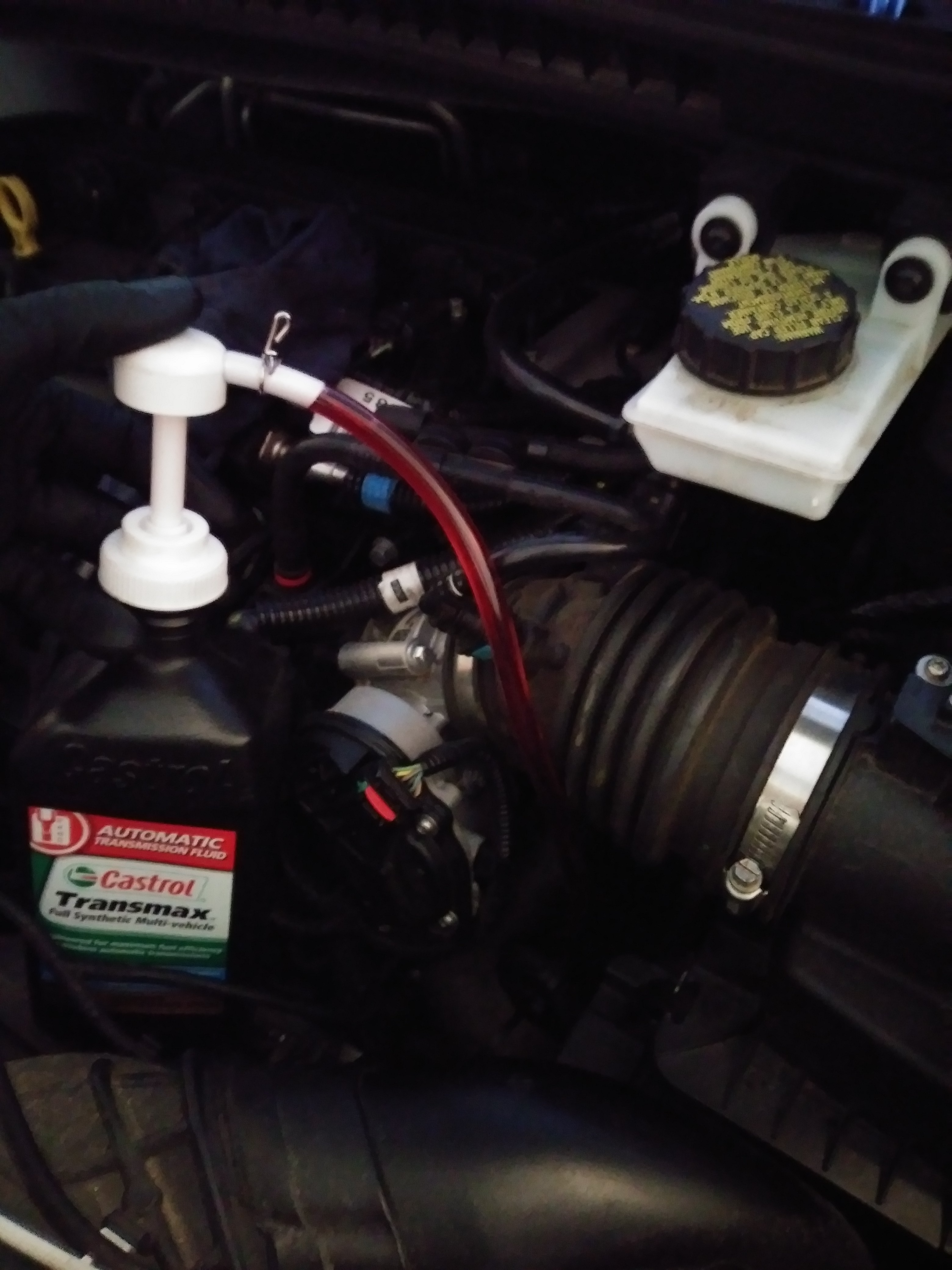 2014 Transmission Fluid Change To Synthetic Transmission