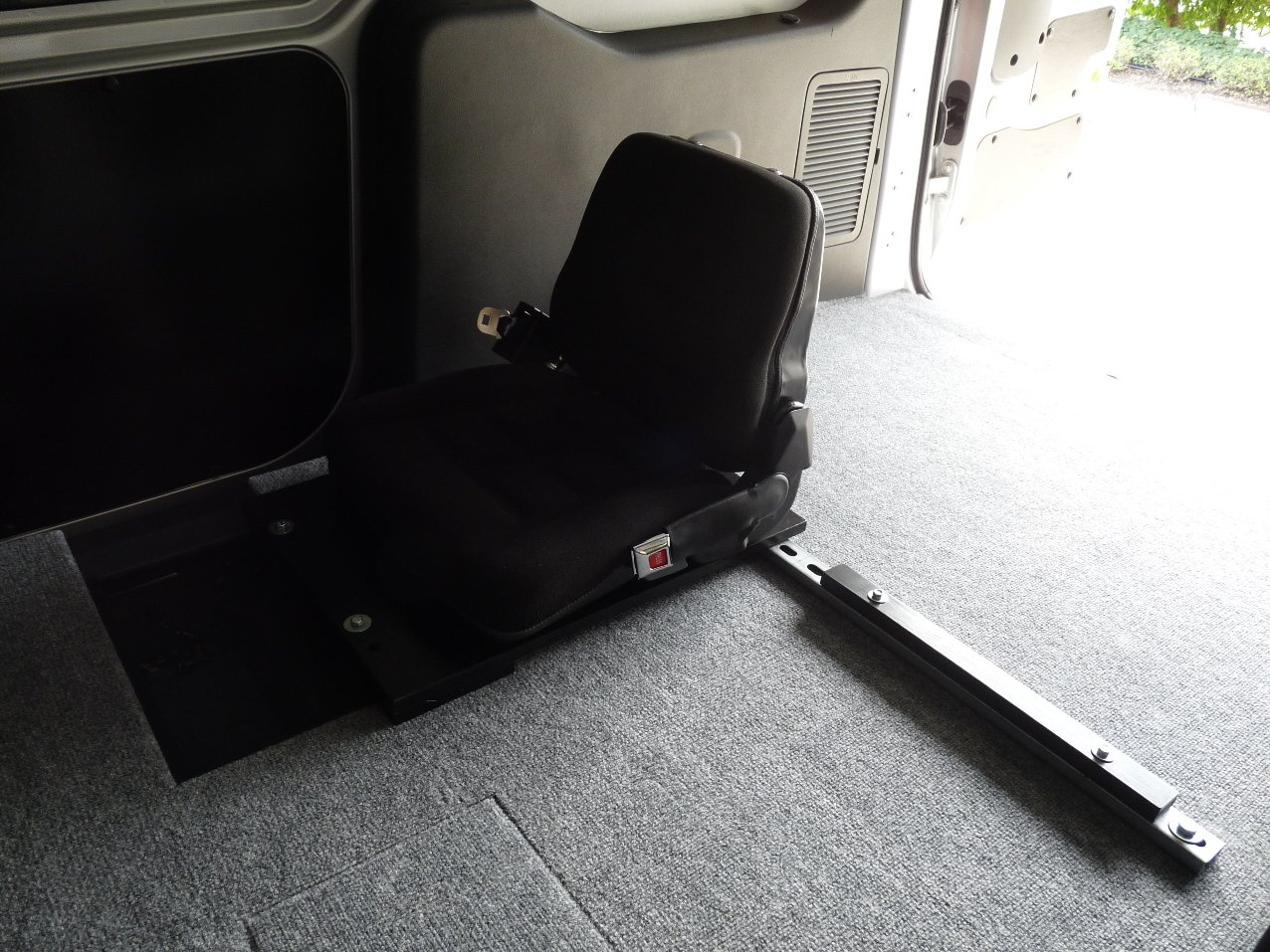 Cargo Van Jump Seat Accessories And Modifications Ford Transit Connect Forum