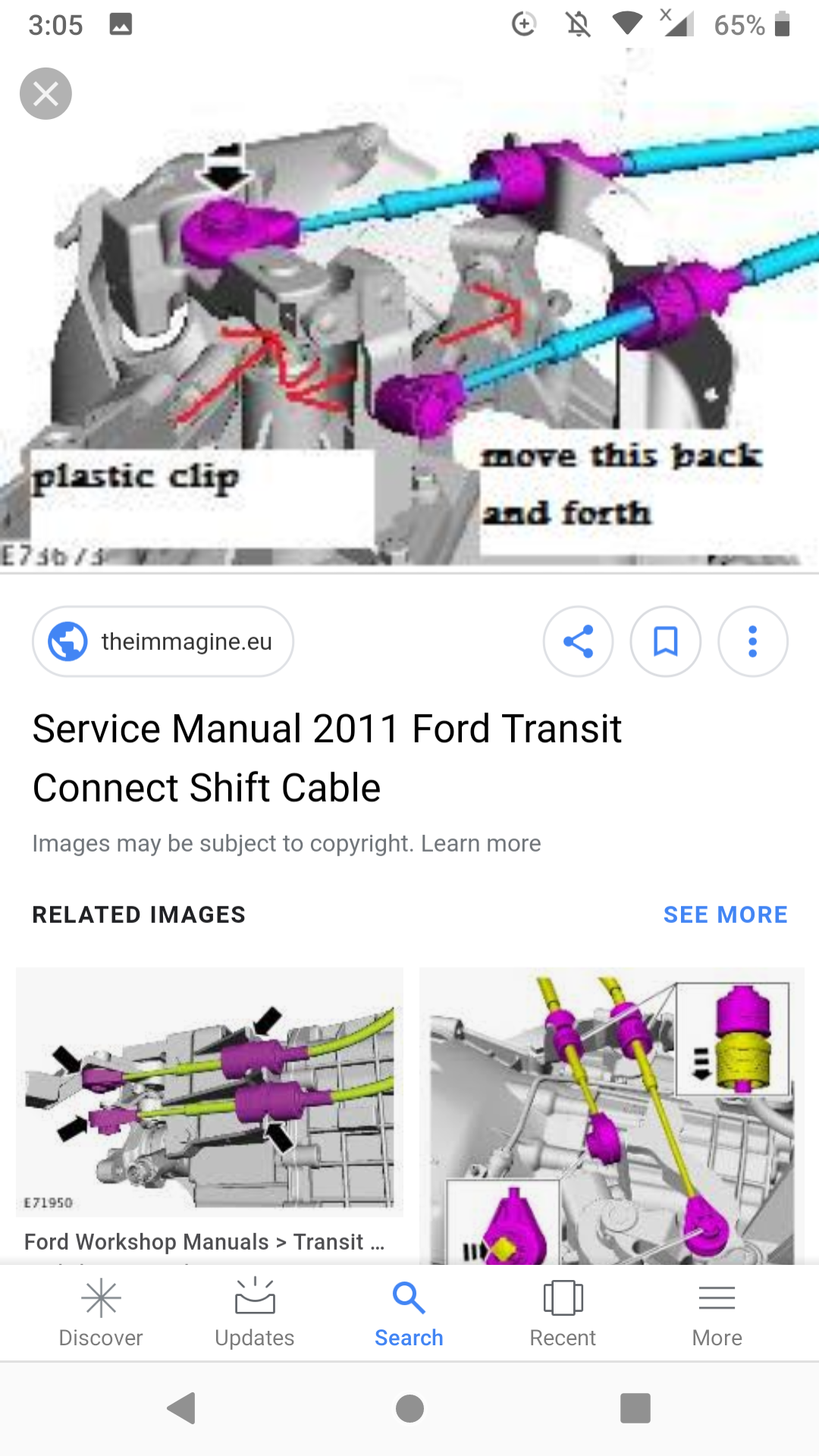 Transit connect reverse gear problem - Transmission - Ford Transit